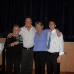 2010 Awards winners with Frankie J Holden