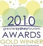 2010 Greater Sydney Tourism Award